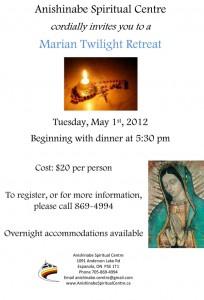 Marian Retreat 2012