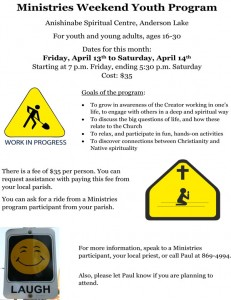 Youth Program Announcement - Apr 2012 - poster
