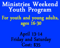 Youth Program Announcement - April 2012