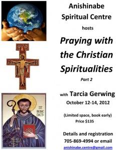 Praying with the Christian Spiritualities - poster
