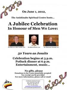 Jubilee celebration - in honour of men we love
