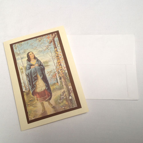Kateri cards with envelopes