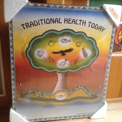 Traditional Health Today plaqued poster