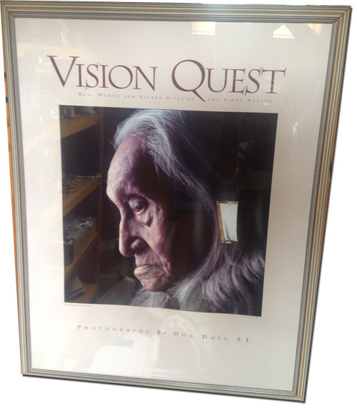 Vision quest poster