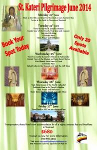 St. Kateri Tekakwitha - Pilgrimage