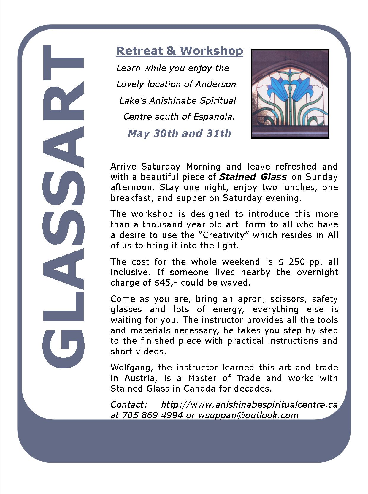 Poster-Stained-Glass-Retreat-and-Workshop---Espanola---Ontario-